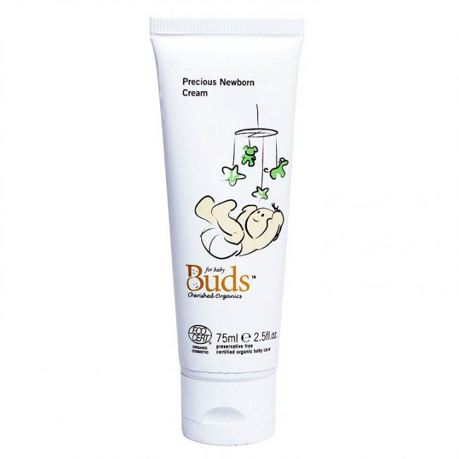 Buds Cherished Organics Precious Newborn Cream, 75ml
