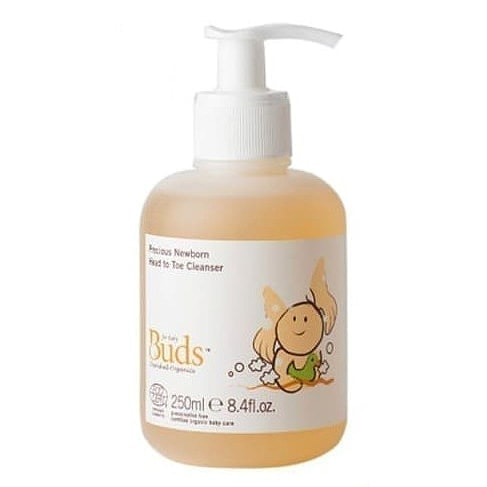 Buds Cherished Organics Precious Newborn Head To Toe Cleanser, 250ml