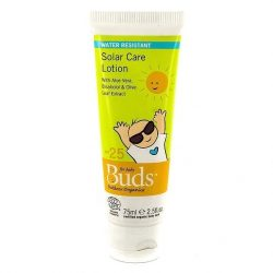 Bottle of Buds Everyday Organics - Solar Care Lotion (75ml)
