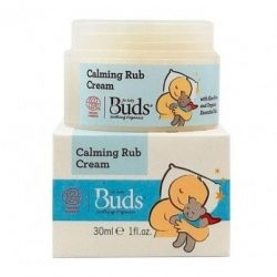 Container and box of Buds Soothing Organics - Calming Rub Cream (30ml)