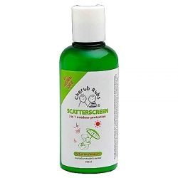 Bottle of Cherub Rubs Scatterscreen Sunscreen (100ml)