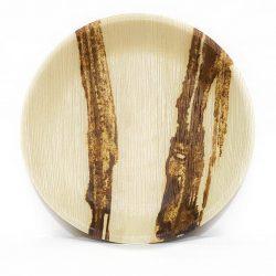 """Fallaleaf 12"""" Round Palm Tray"""