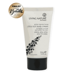 Tube of Living Nature Organic Ultra Rich Body Cream, 150ml