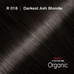Hair color preview for Radico Ash Blonde Hair Colour Powder (100g)