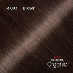 Hair colour preview for Radico Brown Hair Colour Powder (100g)
