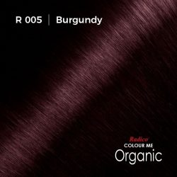 Hair colour preview for Radico Burgundy Hair Colour Powder (100g)