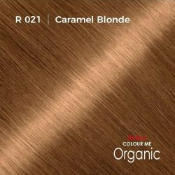 Hair colour preview for Radico Caramel Blonde Hair Colour Powder (100g)