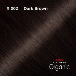 Hair colour preview for Radico Dark Brown Hair Colour Powder (100g)