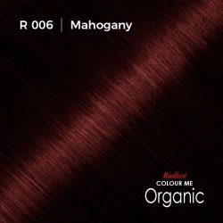 Hair colour preview for Radico Mahogany Hair Colour Powder (100g)