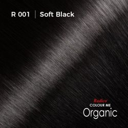 Hair colour preview for Radico Soft Black Hair Colour Powder (100g)