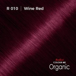 Hair colour preview for Radico Wine Red Hair Colour Powder (100g)