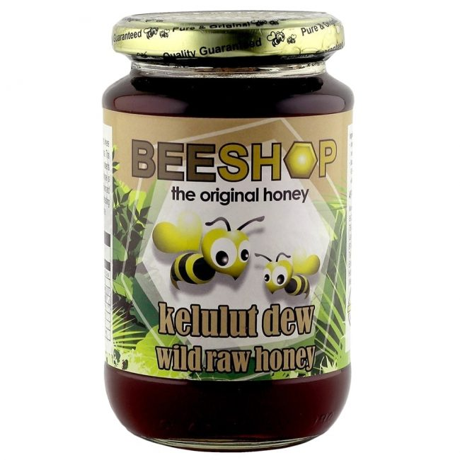 Beeshop Kelulut Dew Raw Honey, 491g
