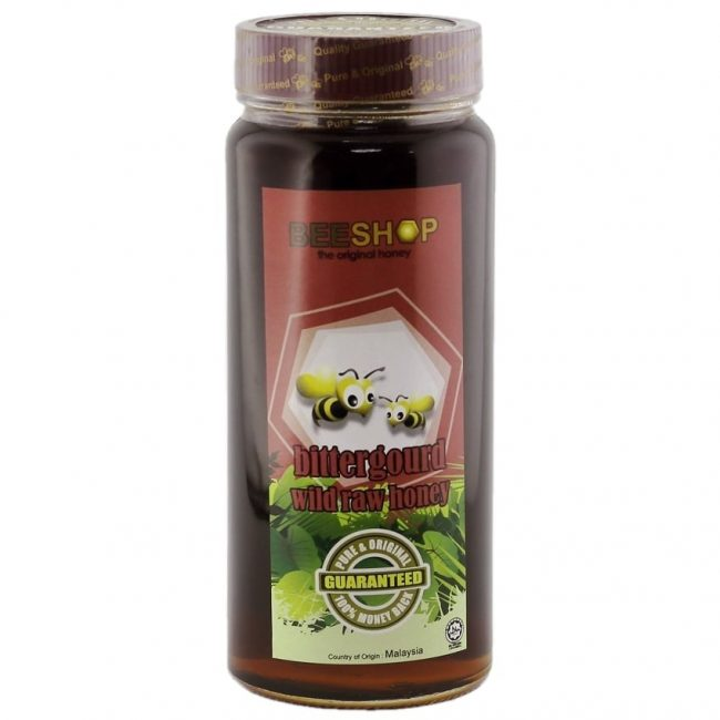 Beeshop Bittergourd Wild Raw Honey, 959g