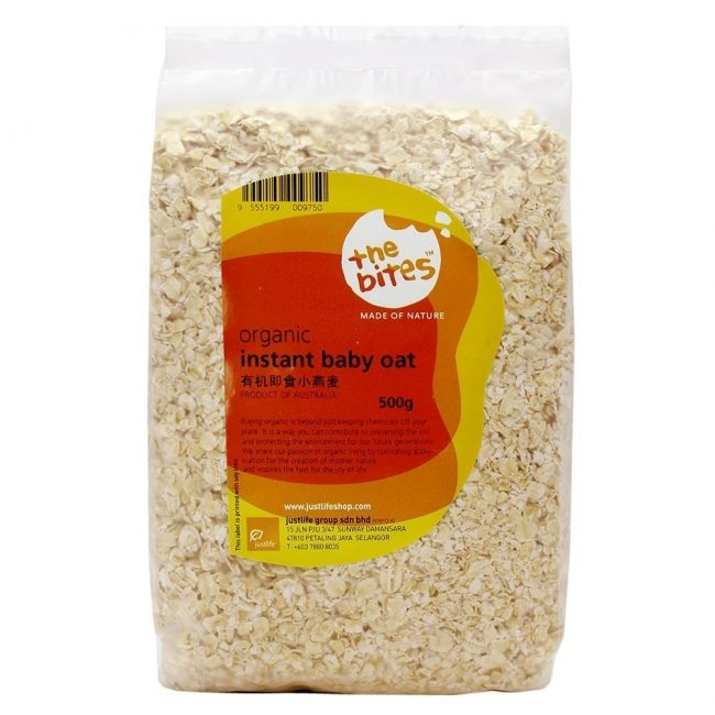 The Bites Organic Instant Baby Oats, 500g