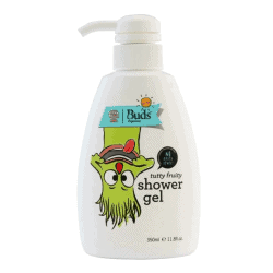 Bottle of Buds for Kids Tutty Fruity Shower Gel (350ml)