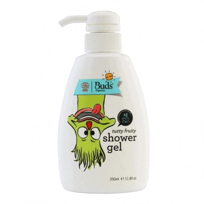 Buds for Kids Organic Tutty Fruity Shower Gel, 350ml