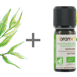 Florame Tea Tree Oil, 10ml + Ravintsara Oil, 10ml