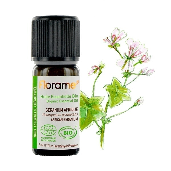Florame African Geranium ORG Essential Oil, 5ml