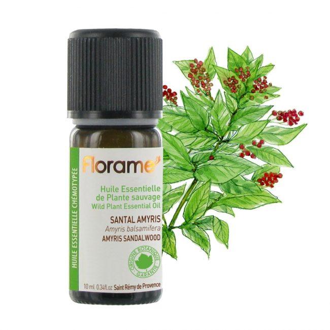 Florame Amyris Sandalwood WILD Essential Oil, 10ml