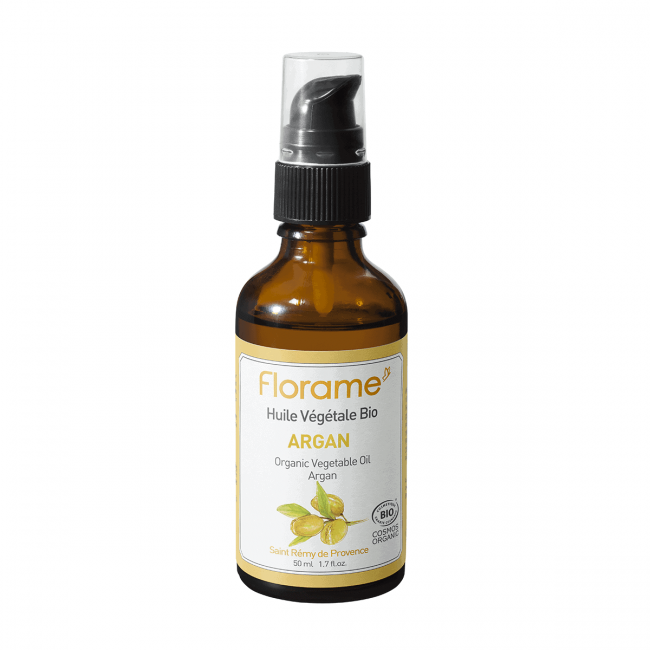 Florame Argan ORG Vegetable Oil (Desodorized), 50ml
