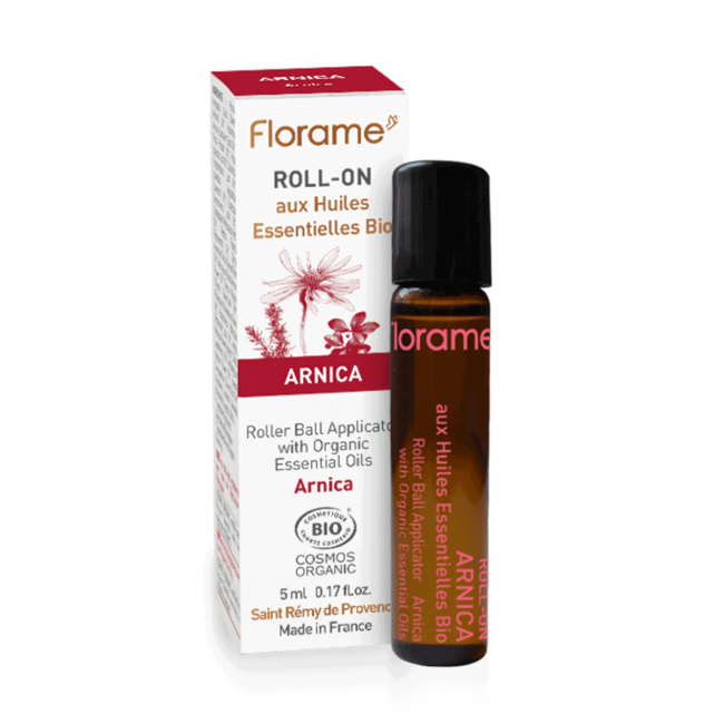 Florame Arnica ORG Essential Oil with Roller Ball Application, 5ml