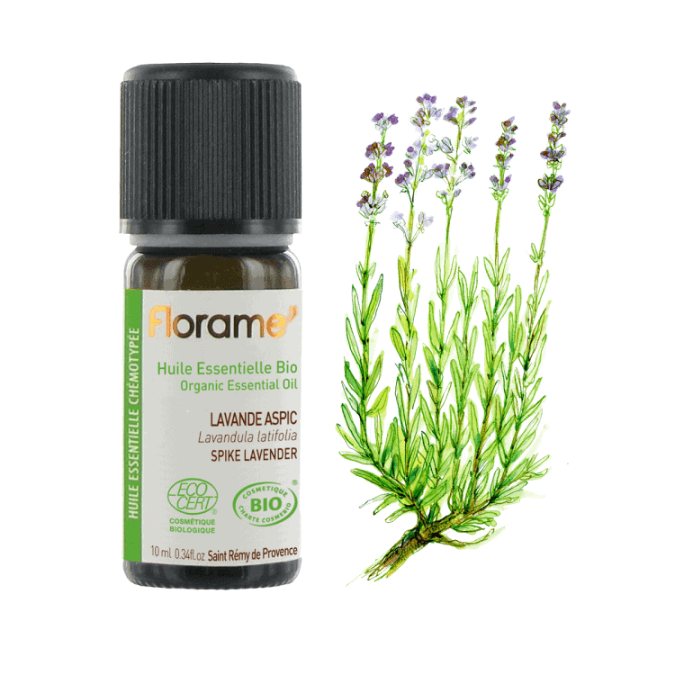 Florame Aspic Spike Lavender ORG Essential Oil, 10ml