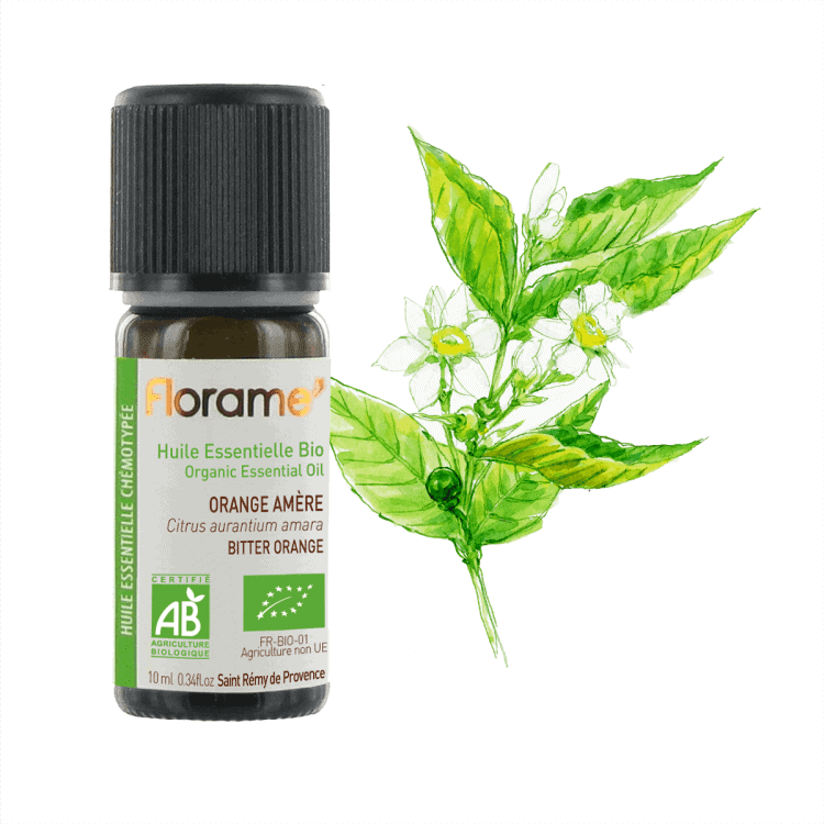 Florame Bitter Orange ORG Essential Oil, 10ml