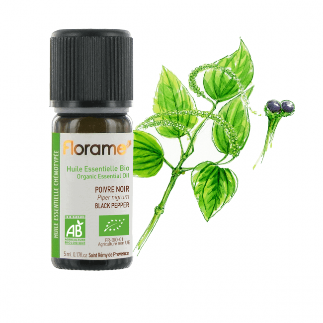 Florame Black Pepper ORG Essential Oil, 5ml