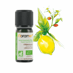 Florame Distilled Lemon ORG Essential Oil 10ml