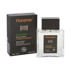 Florame Eau de Toilette Vetiver Spirit 100ml