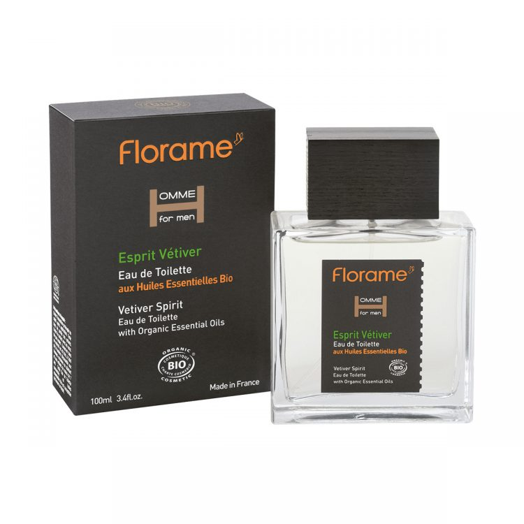 Florame Eau de Toilette Vetiver Spirit, 100ml