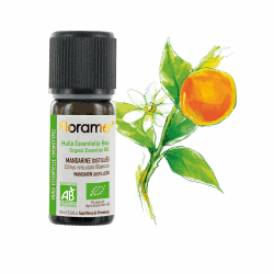 Florame Mandarin Distilled ORG Essential Oil 10ml