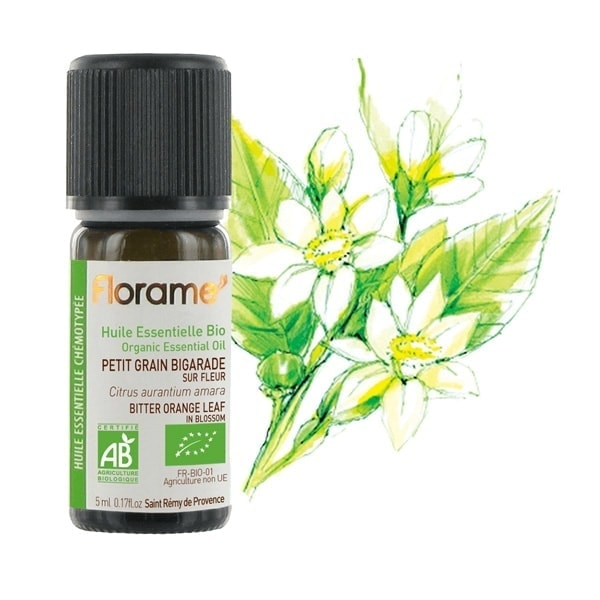 Florame Bitter Orange Leaf Blossom ORG Essential Oil, 5ml