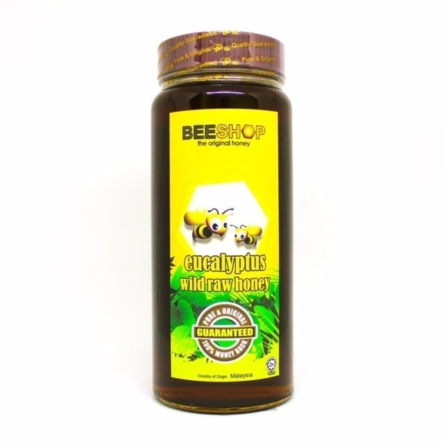 Ecobee Eucalyptus Raw Honey, 959g
