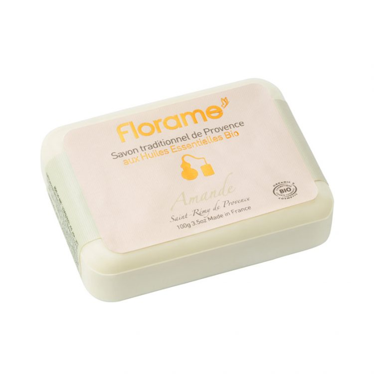 Florame Almond Traditional Soap, 100g