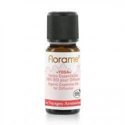 Florame Yoga Organic Essential Oils for Diffusion 10ml