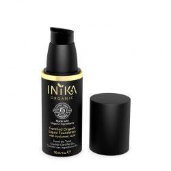 INIKA Certified Organic Liquid Foundation Lid Off 30ml
