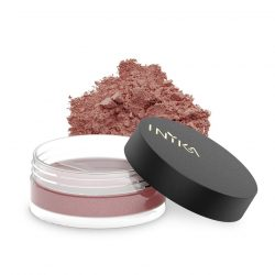 INIKA Loose Mineral Blush 3.5g Blooming Nude With Product