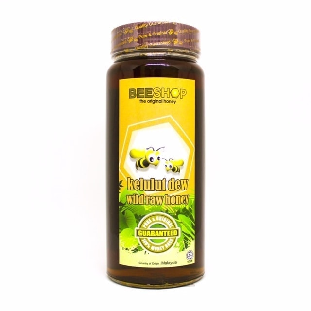 Ecobee Kelulut Dew Raw Honey, 959g