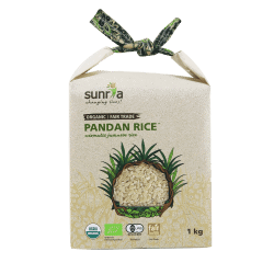 Sunria_Pandan Rice_Brown_1kg