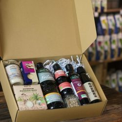 Organic home kitchen gift box