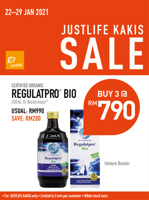 Regulatpro Justlfe Kaki Sale Bundle Promo