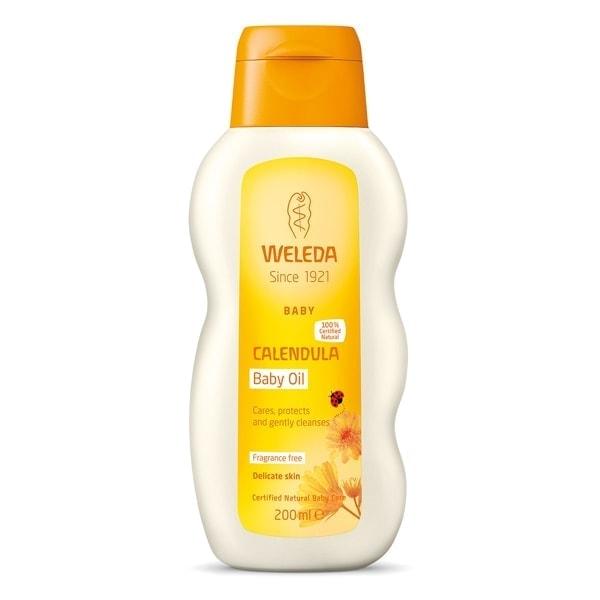Weleda Calendula Baby Oil (Fragrance-Free), 200ml