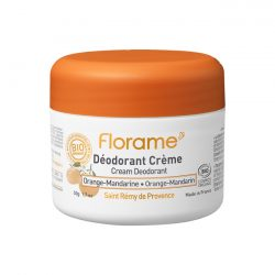 Florame Cream Deodorant Orange Mandarin 50g
