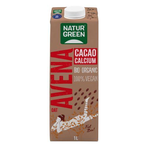 NaturGreen Oat Chocolate Calcium Drink, 1L