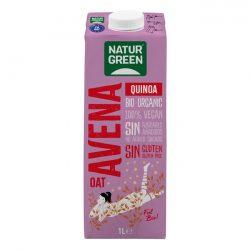 NaturGreen Oat Quinoa Gluten Free 1L