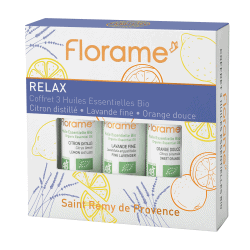 Florame Relax Box Essential Oil Set