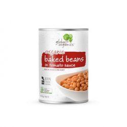 Global Organics Baked Beans in Tomato Sauce 400g