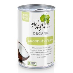 Global Organics Coconut Cream 22 Fat 400g