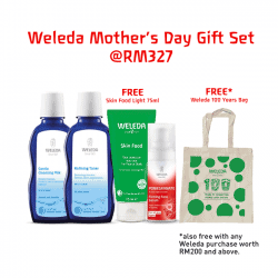 weleda mothers day gift set 1